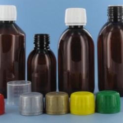 New PET Sirop bottles for liquid medicine