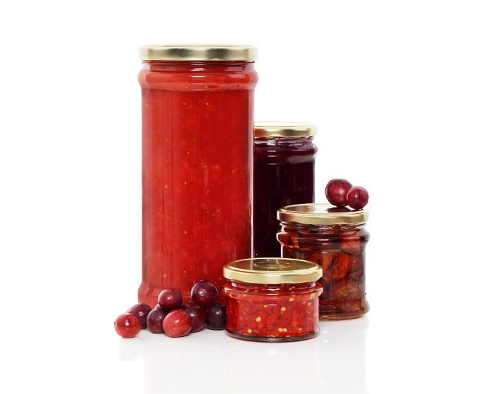 New Profile glass food jars family