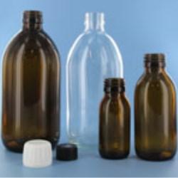 Alpha Sirrop Bottle - Glass