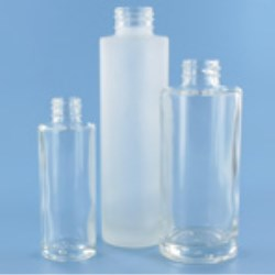 Cyclindrical Bottle - Glass