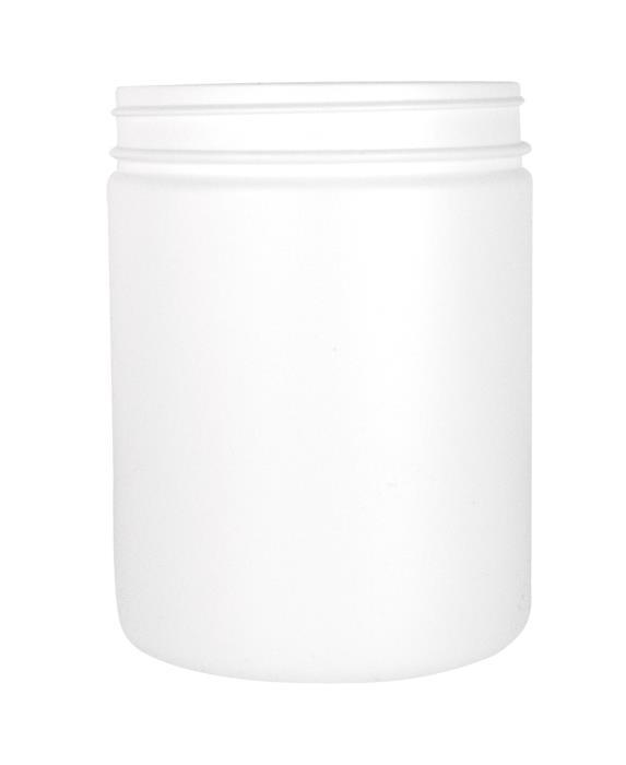 Cylindrical Jar 1000ml 100CT HDPE