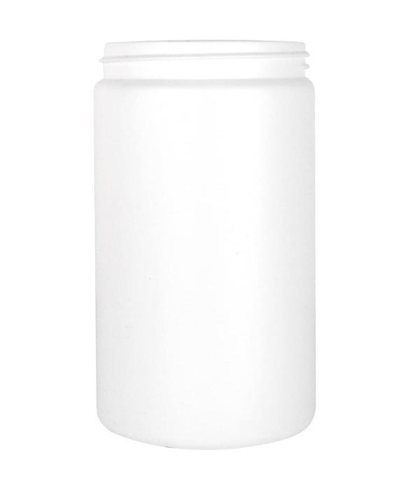 Cylindrical jar 950ml 89CT HDPE