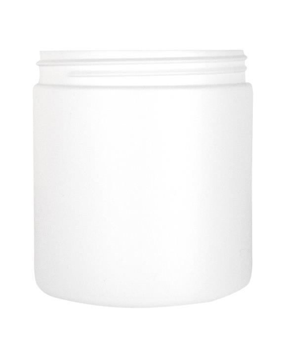 Cylindrical Jar 750ml 100CT HDPE