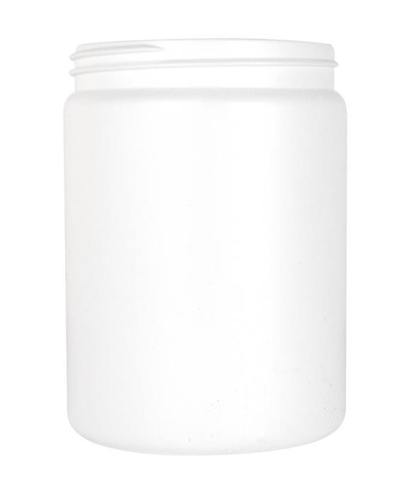 Cylindrical Jar 750ml 89CT HDPE