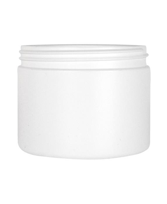 Cylindrical jar 500ml 89CT HDPE