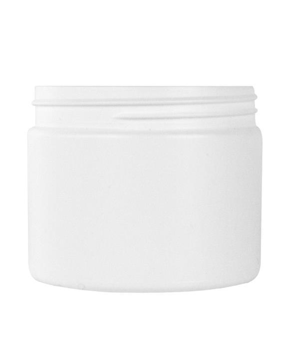 Cylindrical jar 350ml 89CT HDPE