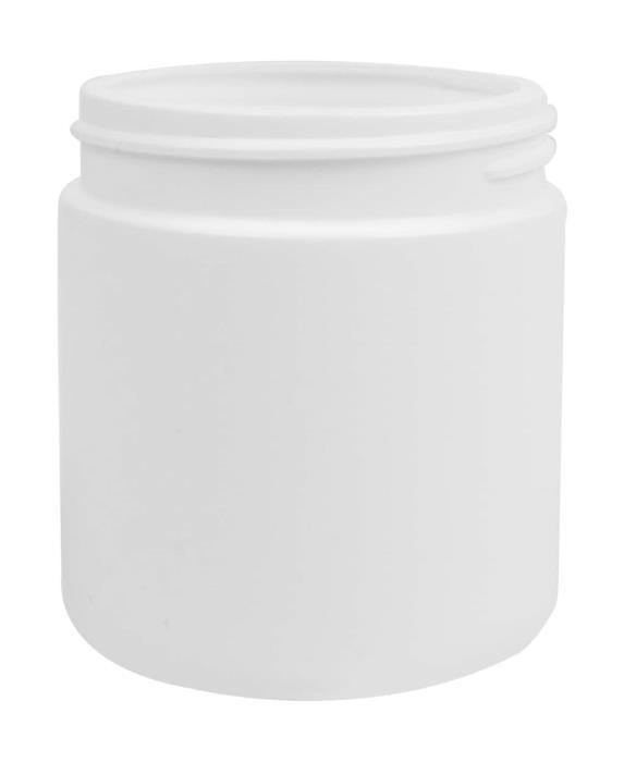 Cylindrical Jar 200ML 63CT HDPE