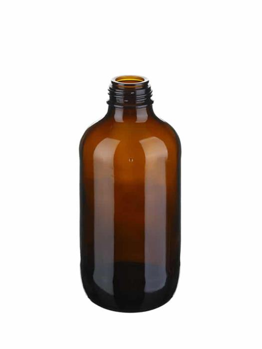 Winchester 500ml 45mm Glass Amber Wide Mouth