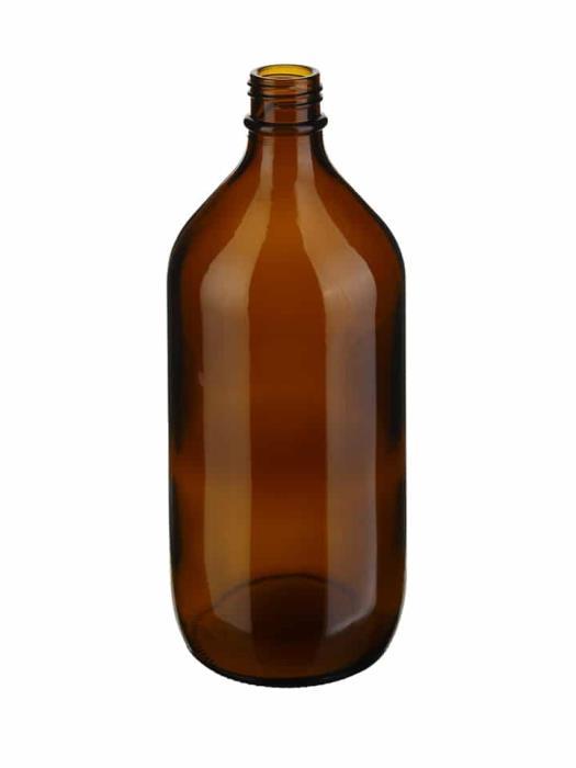 Winchester 1000ml DIN45 Glass Amber