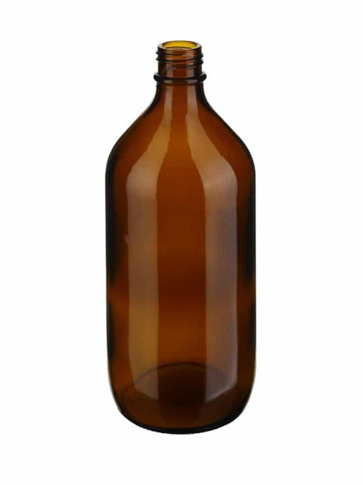 Winchester 1000ml DIN45 Glass Amber