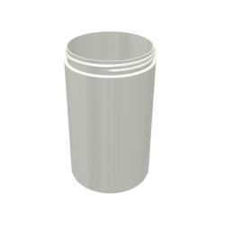 Cylindrical Jar 1250ml 100CT HDPE white
