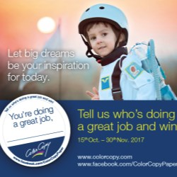"""Color Copy's """"Doing a great job"""" promotion takes you to the moon"""