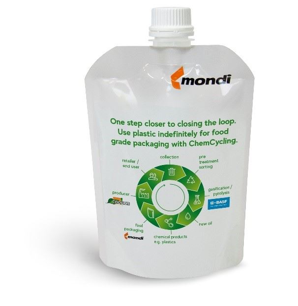 ChemCycling sources feedstock from post-consumer plastic waste to produce virgin grade material for food contact approved quality