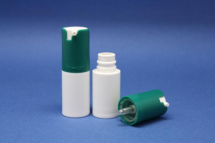 Small format airless cream dispensers