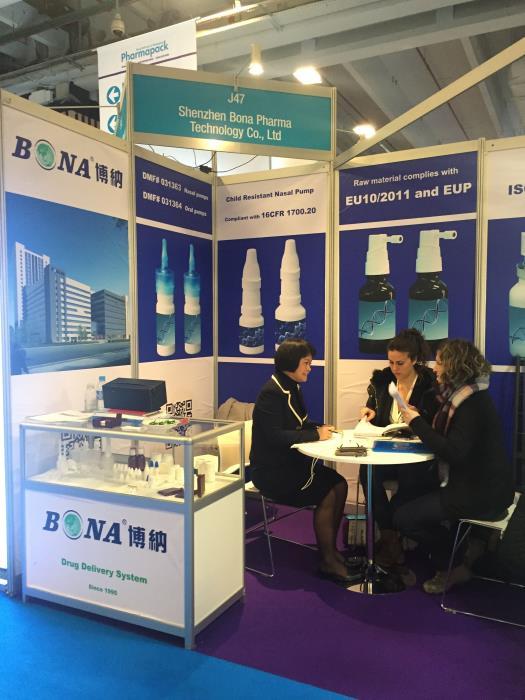 BONA anticipate Pharmapack Europe 2018