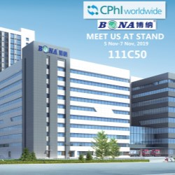 Bona Pharma showcasing at CPhI, the worlds largest pharma exhibition