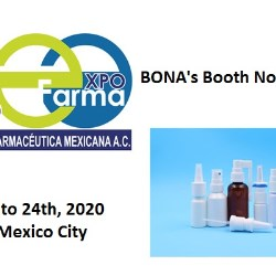 Bona to exhibit at ExpoFarma Mexico in 2020