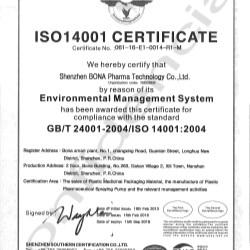 ISO 14001:2004 - Bona
