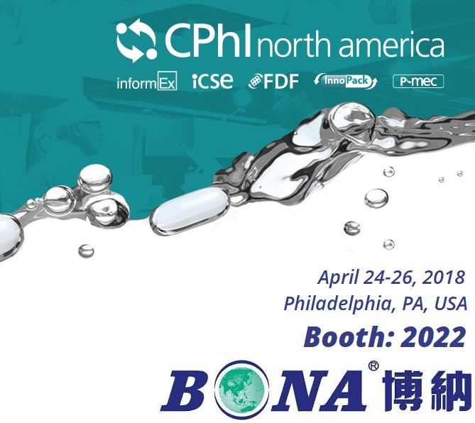 BONA Pharma attends CPhi North America Philadelphia 2018