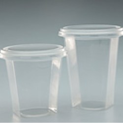 Square / Round PP Pots (103mm diameter)
