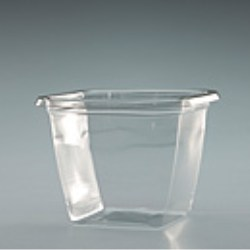 Square PET Pot (76mm)