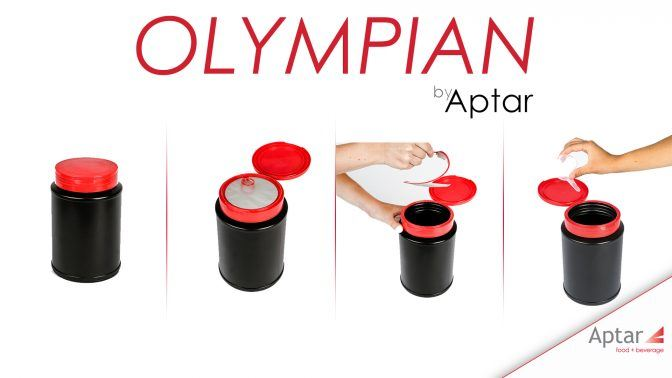 Aptar's Olympian: Solving the e-commerce problem for sports nutritional powder packaging