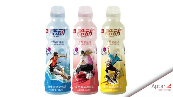 Xiaoyangren launches sports drink featuring aptar's sports closure