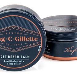 Roberts Metal Packaging works with client Proctor & Gamble to develop and manufacture the metal jar for King C Gillette's Soft Beard Balm