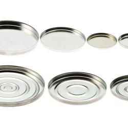 Round Aluminium Godet