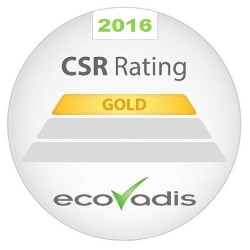Aarts Plastics awarded gold medal rating in EcoVadis CSR assessment