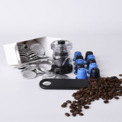 Aarts Plastics and Bluecup develop unique system to fill and refill coffee capsules