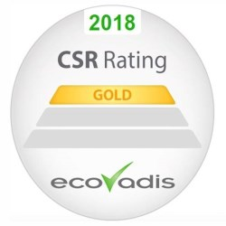 Aarts Plastics, state of the art injection moulding, again achieves Gold status recognition for social responsibility from Ecovadis