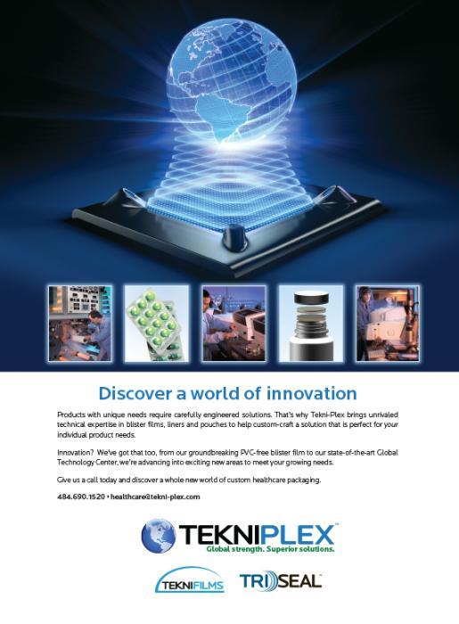Tekni-Plex Announces New Lamination Film Production Line For Barrier PharmaMedical Blister Applications | Tekni-Plex