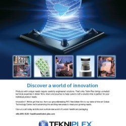 "Tekni-Plex, Inc. Appoints Robert ""Andy"" Jacobs to the Position of West Coast Regional Sales Manager, Pharma 