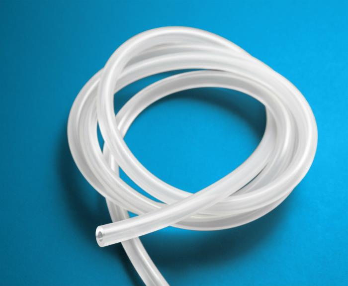 Natvar's new, tight tolerance, silicone tubing line