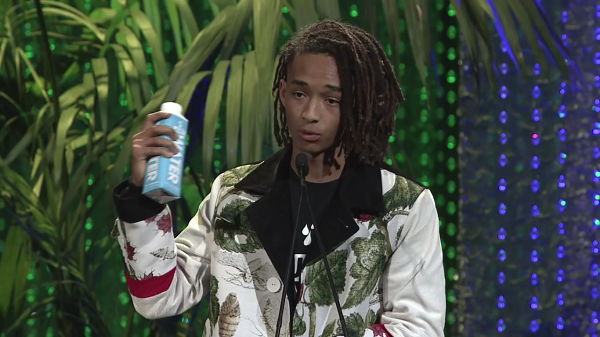 Jaden Smith's speech at the 2016 Environmental Media Awards