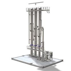 Tetra Magna Evaporator TVR continuous evaporation system