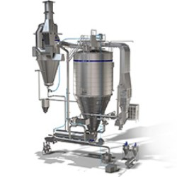 Tetra Magna Dryer WB spray drying system.