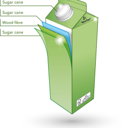 ​​​​​​​​​Tetra Pak creates a fully renewable gable top package for the US