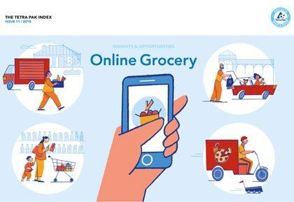 Tetra Pak Index 2018 says smart packaging offers exciting opportunities in fast growing online grocery