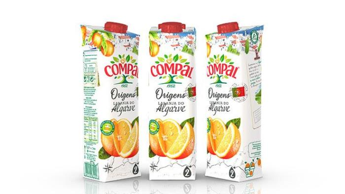 Sumol+Compal rejuvenates product range and attracts shoppers' attention with new Tetra Stelo Aseptic carton package