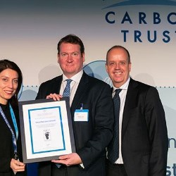 Tetra Pak wins Product Footprinting award at the Carbon Trusts Annual Corporate Sustainability Summit