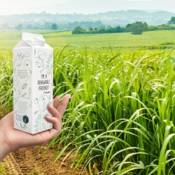 Tetra Pak becomes the first company in the food and beverage industry to offer packaging made with fully traceable plant-based polymers