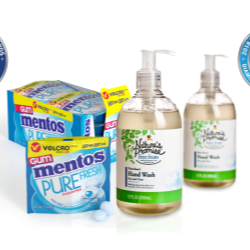 Amcor gets double honours for innovative, functional, responsible packaging for Natures Promise and Mentos