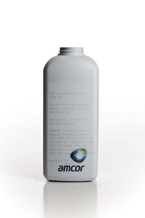 Powder Oval  Engraved Bottle - 71032