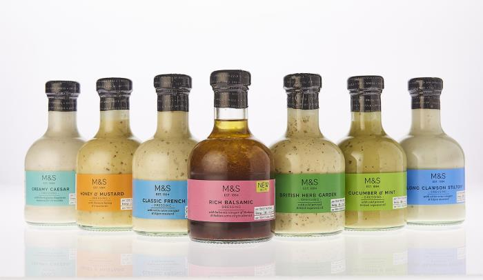 Beatson Clark's M&S dressing bottle is glass pack of the year