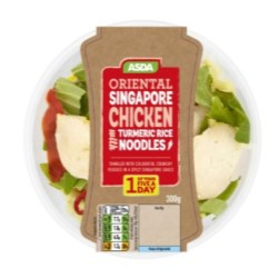 Robinson Delivers For Asda Ready Meal Re-launch
