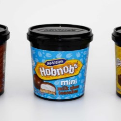 Robinson develop on-the-go pot for McVitie's