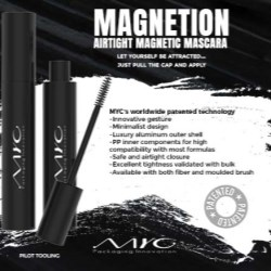 MYC Packaging Innovation Magnetion range celebrates Lash Day