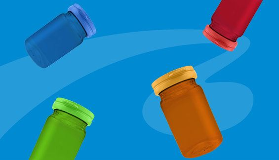 Stand out in the market with BLUESKYs NEW Pill and Vitamin Jars